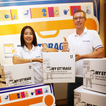 MY STORAGE Self Storage offers Business Storage